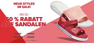 Bild zu Crocs: Sale mit bis zu 60% Rabatt auf Sandalen