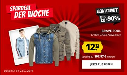 Bild zu verschiedene Brave Soul Jacken für 12,12€ zzgl. 3,95€ Versand