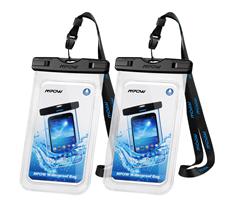 Bild zu Mpow Wasserdichte Handyhülle im Doppelpack für 7,76€