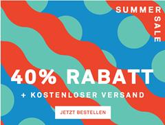 Bild zu Happy Socks: Summer Sale mit 40% Rabatt auf ausgewählte Artikel + kostenloser Versand