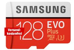 Bild zu SAMSUNG Evo Plus 128 GB für 16€ (VG: 20,93€)