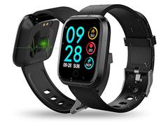 Bild zu RIVERSONG Fitness Tracker (IP67, Schrittzähler, Pulsmesser, Schlafüberwachung, usw.) für 23,99€