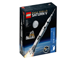 Bild zu LEGO Nasa Apollo Saturn V (21309) für 99,95€ (VG: 119€)
