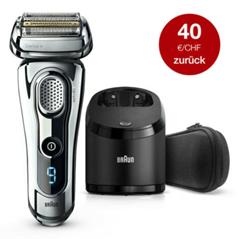 Bild zu Braun Series 9 9295 CC Elektrischer Rasierer für 199,90€ (VG: 222,95€) + 40€ Cashback (Geld zurück)