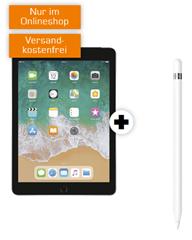 Bild zu APPLE iPad 2018 (Wifi + LTE) & Apple Pencil für 79€ mit 10GB LTE Datenflat im Telekomnetz für 19,99€/Monat