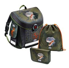 Bild zu Baggymax Canny Dinosaur Schulranzen Set für 34,94€ (Vergleich: 48,45€)