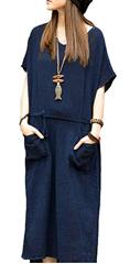 Bild zu 40% Rabatt auf Romacci Damen Kleider aus Baumwolle