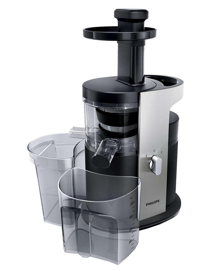 Bild zu Philips Avance Slowjuicer Avance HR1880/01 für 108,90€ (Vergleich: 147,88€)
