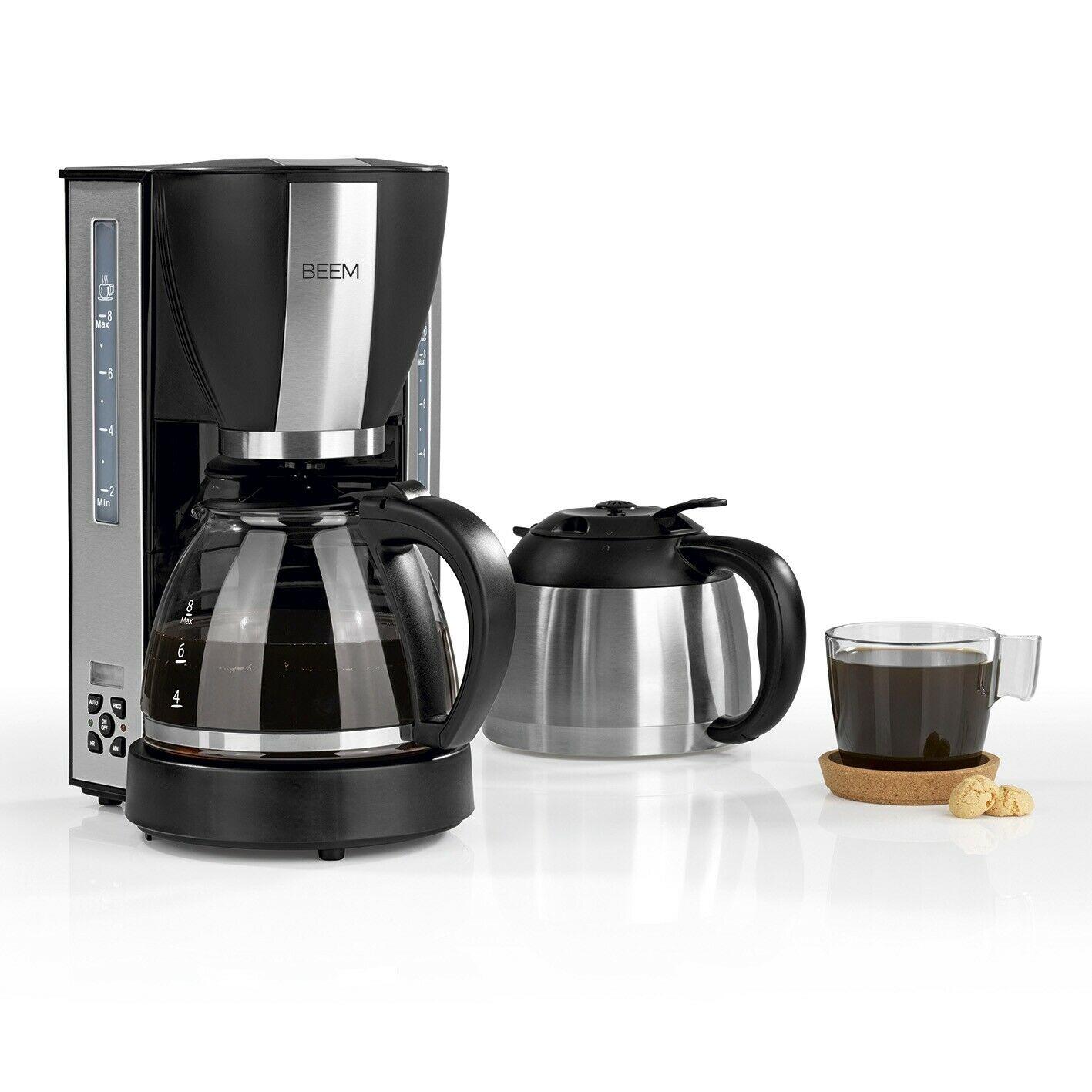 Bild zu Beem Filterkaffeemaschine mit Thermoskanne und Timer für 49,90€ (Vergleich: 63,66€)