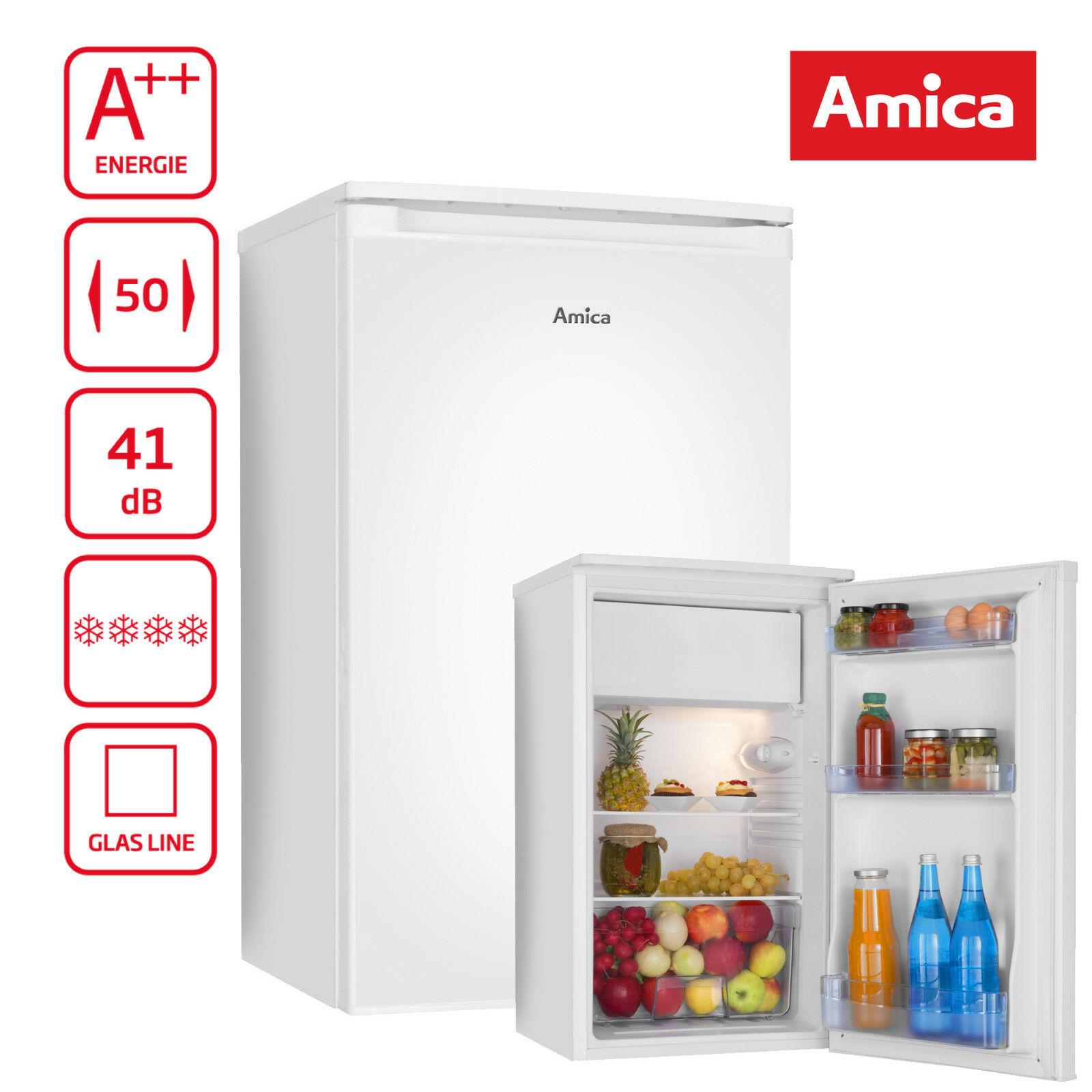 Bild zu Kühlschrank Amica KS15195W mit Gefrierfach (A++) für 111€ (Vergleich: 165€)