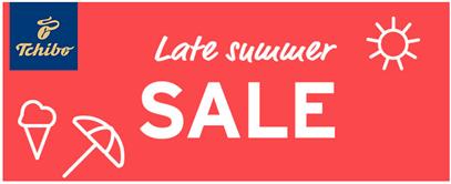 9fbae72a04032b Tchibo: Late Summer Sale mit bis zu 50% Rabatt + 10% Newsletter ...