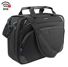 Bild zu KROSER Laptop Aktentasche (bis zu 15,6 Zoll, RFID) für 19,99€