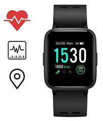 Bild zu Icefox Smartwatch (IP68 wasserdicht, Schrittzähler, Kalorienzähler, Schlafüberwachung) für 24,99€