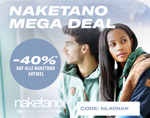 Bild zu Planet Sports: Naketano Sale mit bis zu 40% Rabatt + 40% Extra Rabatt dank Gutschein