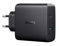 Bild zu AUKEY USB C Ladegerät 56,5W + 1-Port mit 46W Power Delivery 3.0 & 5V 2 für 24,99€