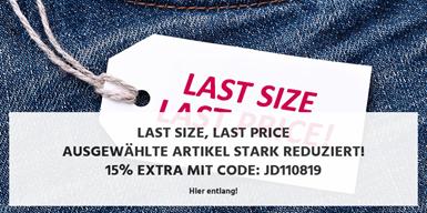 Bild zu Jeans-Direct: 3 für 2 Aktion auf LAST SIZE – LAST PRICE Artikel
