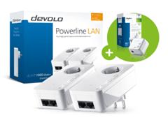 Bild zu DEVOLO dLAN 1000 DUO+ Starter-Kit + dLAN 500 WiFi für 100,99€ (Vergleich: 130,36€)