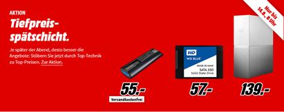 Bild zu MediaMarkt Tiefpreisspätschicht mit Speichermedien