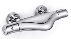 Bild zu Amzdeal Wannenarmatur mit Thermostat (aus 59 Messing, 20-50°C) für 109,99€