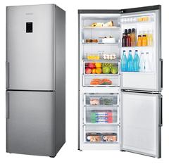 Bild zu Samsung RL 30J3305 SA/EG Kühl-Gefrierkombination (A++, Edelstahl-Look, No Frost, 40dB) für 499€ (Vergleich: 601€)