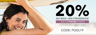Bild zu Sheego: 20% Rabatt auf Bade- & Strandmode (For Me Kunden erhalten 25% Rabatt)