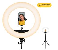Bild zu ESDDI LED Ringlicht  18 Zoll/48cm 100W Dimmbar für 62,99€
