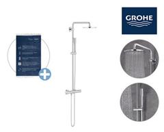 Bild zu Grohe Euphoria XXL 210 Duschsystem + Hamamtuch für 338,90€ (Vergleich: 374,14€)