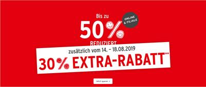 Bild zu Ernsting´s Family: Sale mit bis zu 50% Rabatt + 30% Extra Rabatt