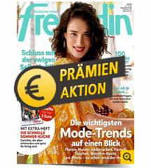 Bild zu [Super] Deutsche Post Leserservice: Jahresabo Freundin (26 Ausgaben) für 73€ + bis zu 75€ als Prämie