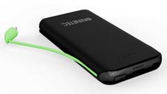 Bild zu NINETEC NT-610 PowerBank (10.000mAh, externer Akku, integriertes Lightning, Micro-USB oder TypeC Kabel) für je 11,99€ (Vergleich: 23,97€)