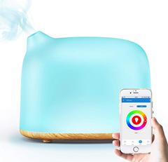 Bild zu GX·Diffuser Luftbefeuchter kompatibel mit Alexa & Google Home für 23,99€