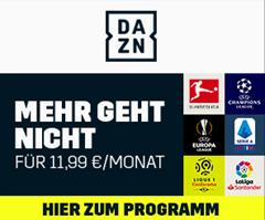 Bild zu DAZN einen Monat kostenlos testen – heute z.B. ChampionsLeague mit Leipzig