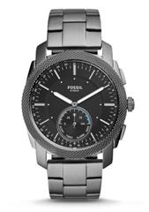 Bild zu Fossil Q Machine Hybrid Smartwatch (FTW1166P) für 118,40€ (Vergleich: 159,90€)