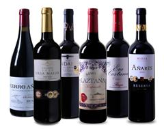 Bild zu Weinvorteil: 6er Wein Probierpaket Rioja für 49,99€ inkl. Versand