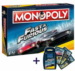 Bild zu Winning-Moves Monopoly Fast and Furious + Top Trumps Quartett für 29,99€ (Vergleich: 42,03€)