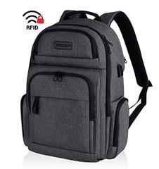 Bild zu KROSER Laptop Rucksack (bis zu 15,6 Zoll, RFID) mit USB Ladeanschluss für 23,09€