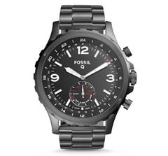 Bild zu Dank 2er Gutscheine: Fossil Herren Hybrid Smartwatch Nate für 82,88€ (VG: 159,90€)