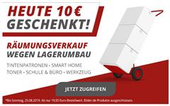 Bild zu Druckerzubehör: 10€ Rabatt auf alles (ab 19,95€ MBW)