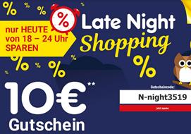 Bild zu Netto: Late Night Shopping mit 10€ Rabatt auf (fast) alles (ab 69,99€ MBW)