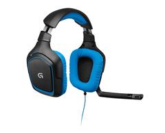 Bild zu LOGITECH G430 Headset Schwarz/Blau für 29€ (VG: 48,87€)
