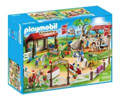Bild zu PLAYMOBIL – 70166 Großer Reitparcours für 39,99€ (Vergleich: 49,99€)