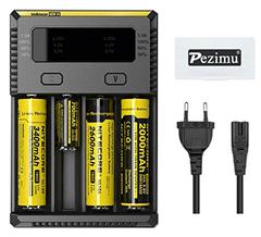 Bild zu Pezimu Nitecore New i4 Ladegerät (nun auch für 3,7V und 4,35V Akkus) für 12,99€