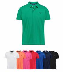 """Bild zu Gant Herren Poloshirt """"The Summer Pique"""" Kurzarm für je 29,90€"""