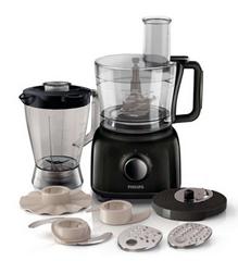 Bild zu Philips HR7762/90 Küchenmaschine (750 Watt, inkl. Knethaken, Standmixer und Mühle) für 45,90€ (Vergleich: 83,99€)