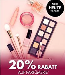 Bild zu Galeria Kaufhof: nur heute 20% Rabatt auf Parfümerie
