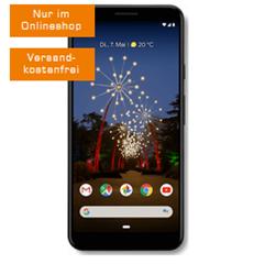 Bild zu [Top] GOOGLE Pixel 3a XL für 49€ (Vergleich: 439€) mit 6GB LTE Datenflat sowie Sprachflat im Telekom Netz für 16,99€/Monat