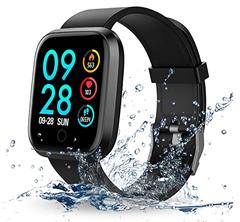 Bild zu RIVERSONG Fitness Tracker (IP67, Schrittzähler, Pulsmesser, Schlafüberwachung, usw.) für 20,99€