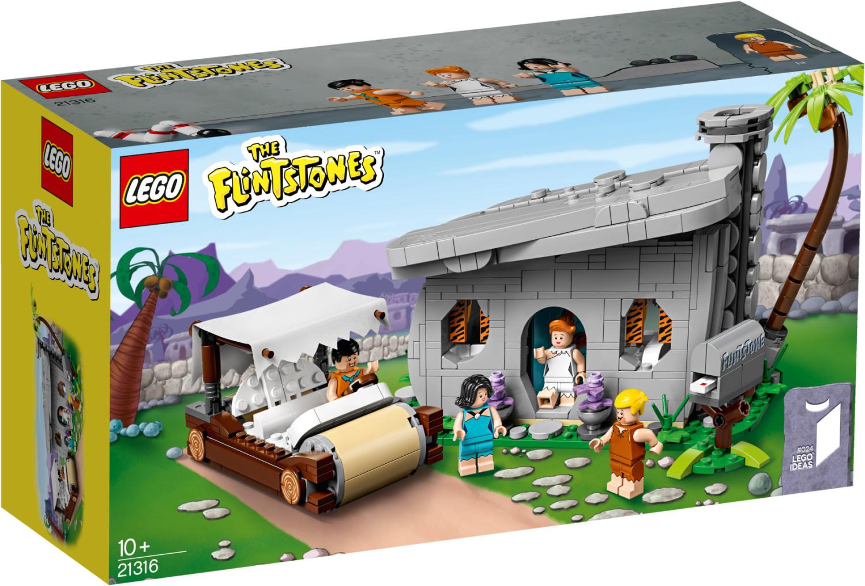 Bild zu Lego Ideas The Flintstones – Familie Feuerstein (21316) für 44,99€ (Vergleich: 54€)