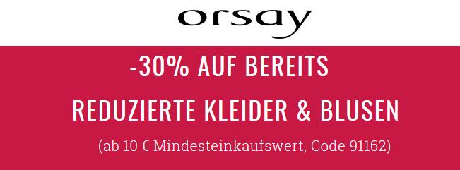 Bild zu Orsay: 30% Extra-Rabatt auf bereits reduzierte Kleider und Blusen