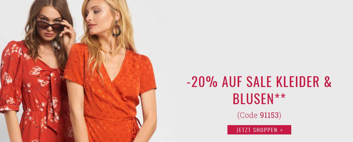 Bild zu Orsay: 20% Extra-Rabatt auf bereits reduzierte Kleider und Blusen